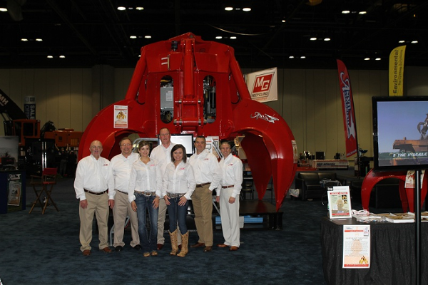 Anvil team on Day 2 of ISRI