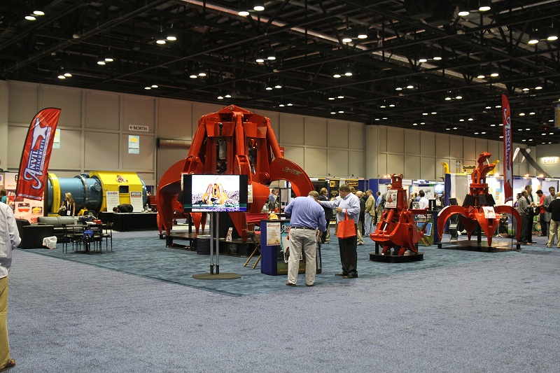 CORNER SHOT OF THE ISRI BOOTH