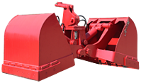 Hydraulic Clamshell Bucket