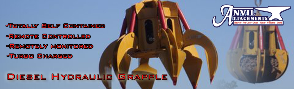 Diesel Hydraulic Grapple